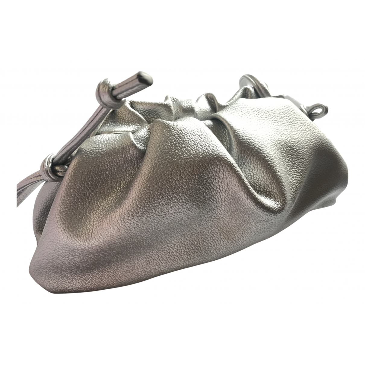 Non Signe / Unsigned \N Clutch in  Silber Synthetik