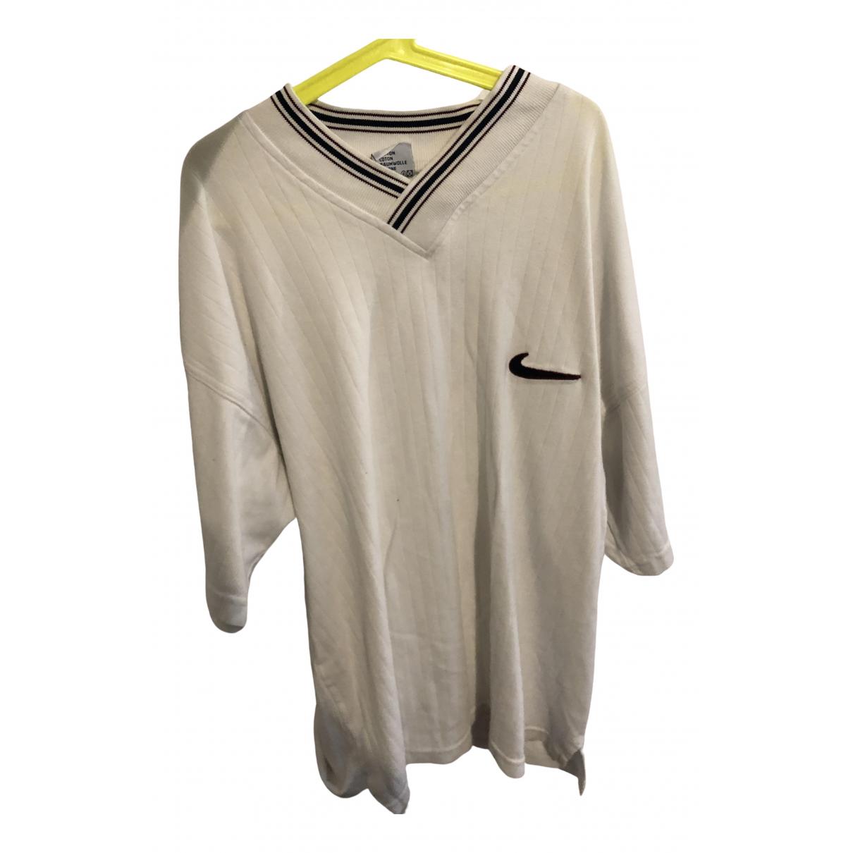 Nike - Chemises   pour homme en coton - blanc