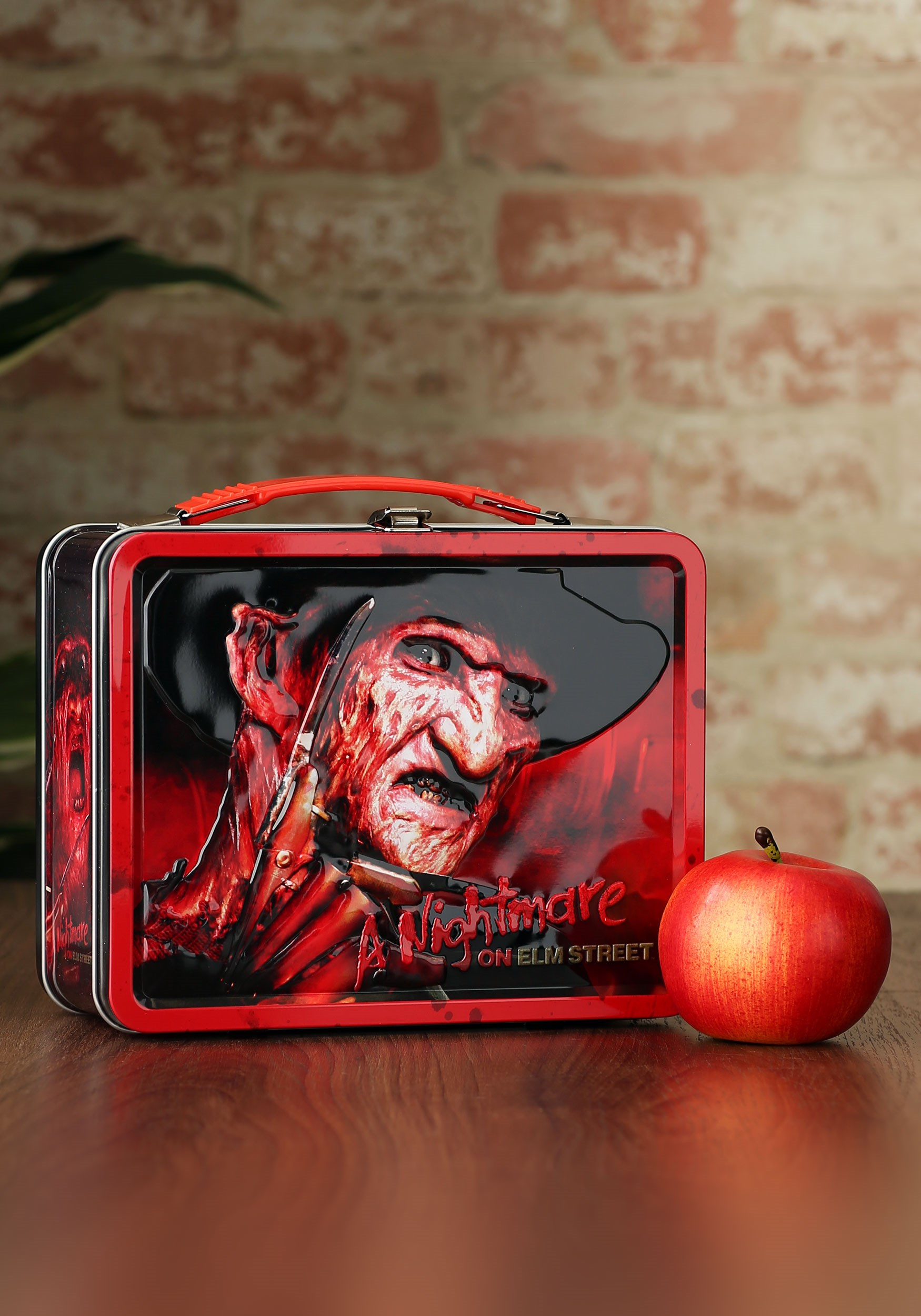 Freddy Krueger Nightmare on Elm Street Metal Lunch Box