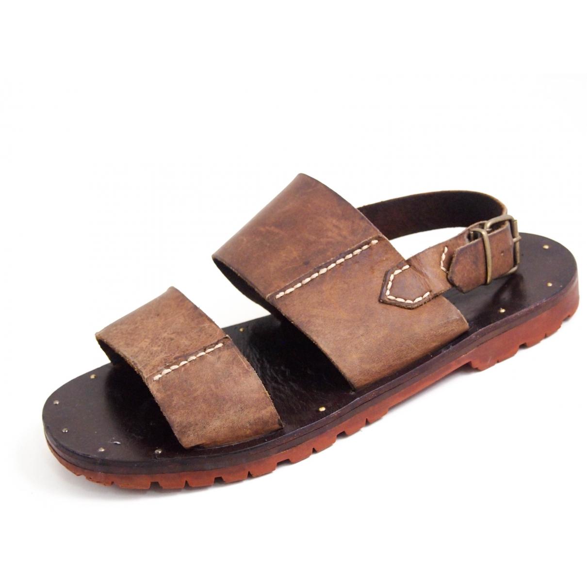 Sandalias de Cuero Polo Ralph Lauren