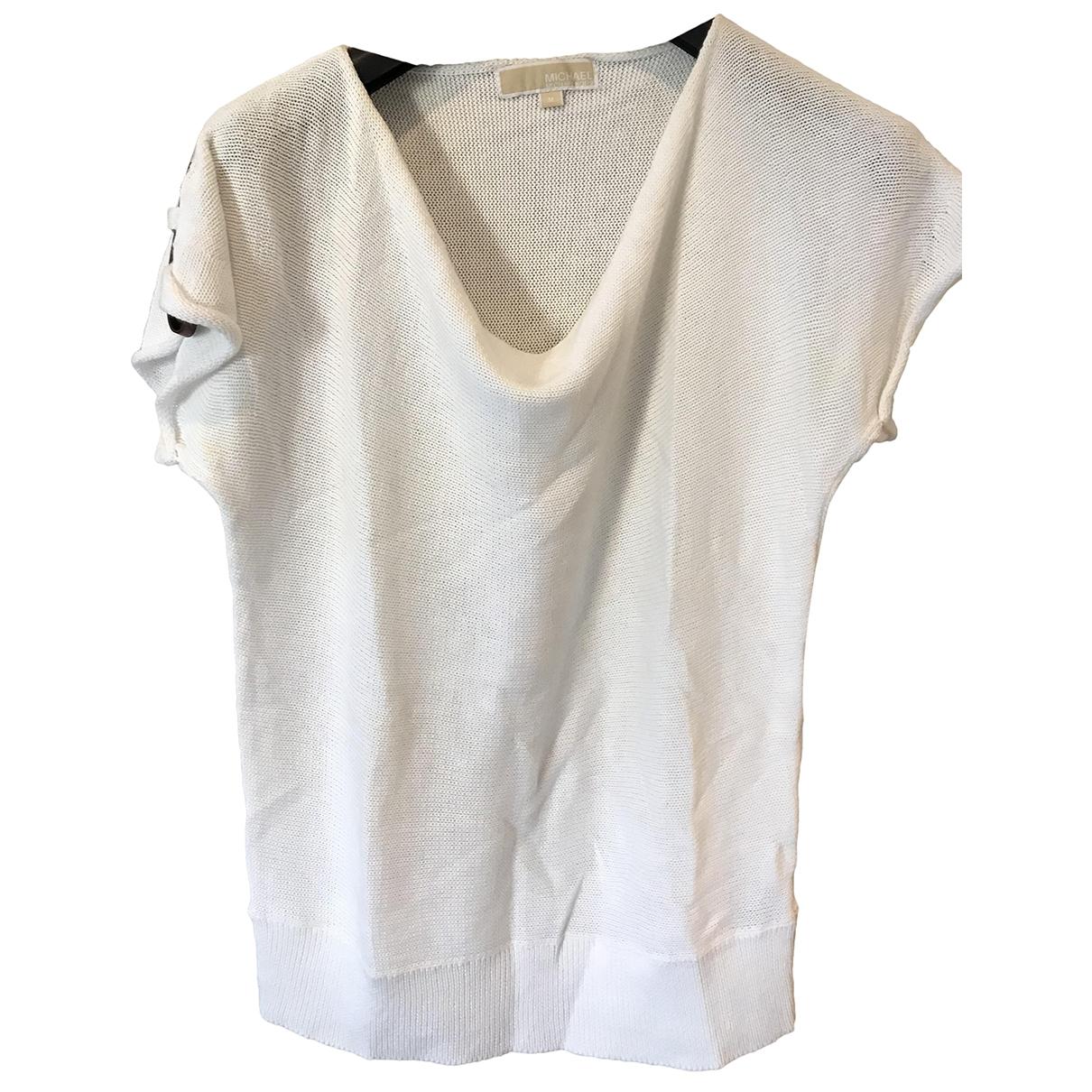 Michael Kors \N White Cotton  top for Women M International