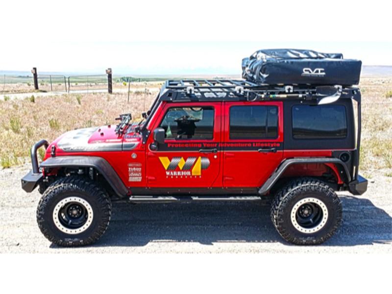 Warrior Products 10984 MOD Rack 4 Door Jeep JK Wrangler 07-18
