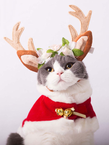 Milanoo Cat Costume Christmas Deer Flesh Headpieces Halloween