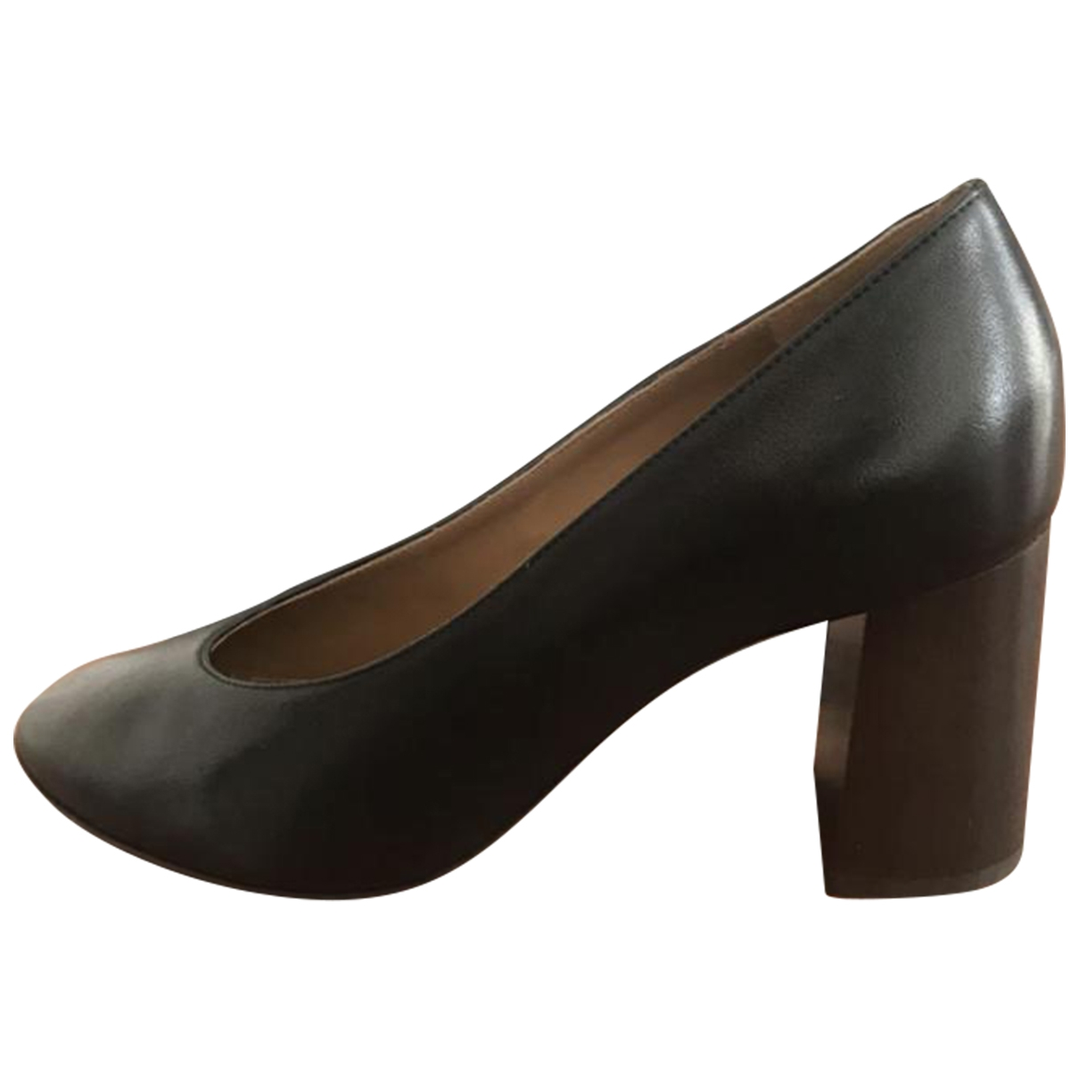 Chloé \N Black Leather Heels for Women 37 EU