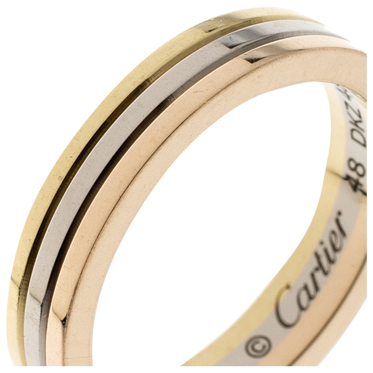 Cartier Trinity Ring in Weissgold
