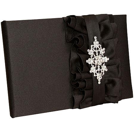 Ivy Lane Design Isabella Guest Book, One Size , Black