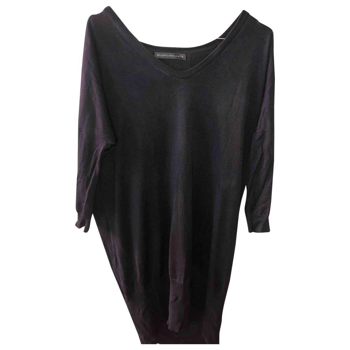 Balenciaga \N Black Cotton Knitwear for Women 38 FR