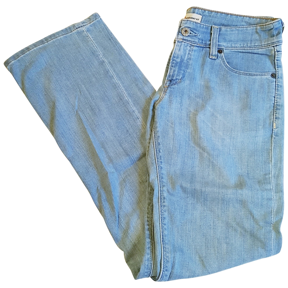 Levi's \N Blue Cotton Jeans for Women 30 US