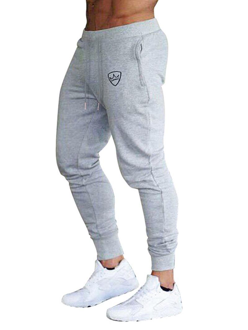 Ericdress Casual Micro-Elastic Mens Slim Pants