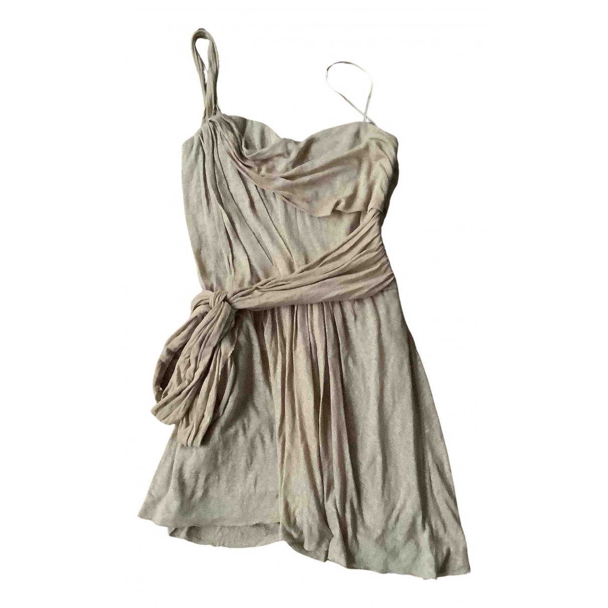 Isabel Marant N Gold Linen dress for Women 2 0-5