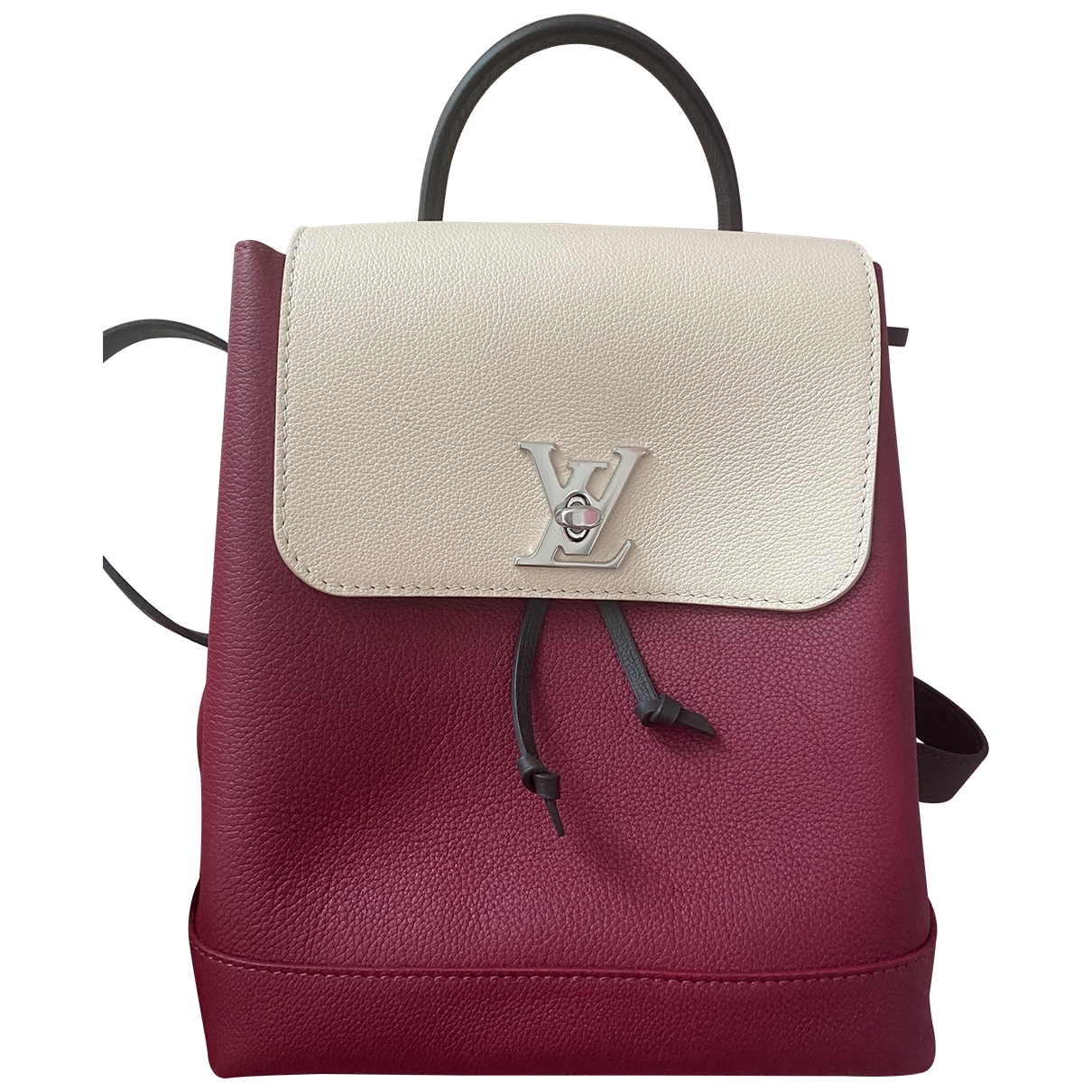 Louis Vuitton Lockme Red Leather backpack for Women \N