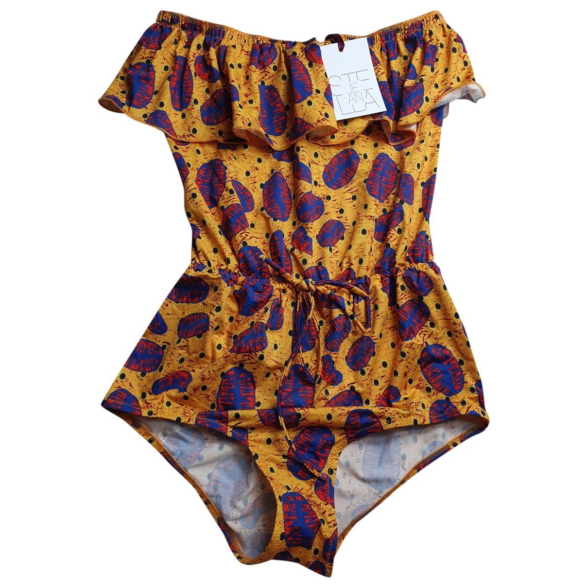 Stella Jean \N Multicolour Lycra Swimwear for Women 40 IT