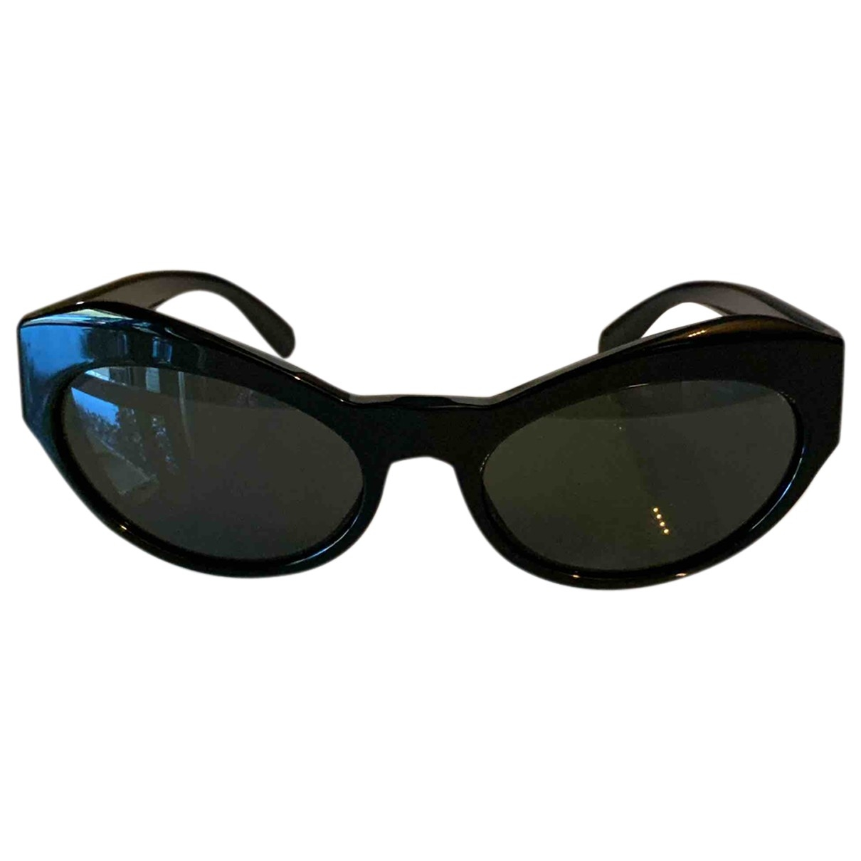 Versace \N Sonnenbrillen in  Schwarz Kunststoff