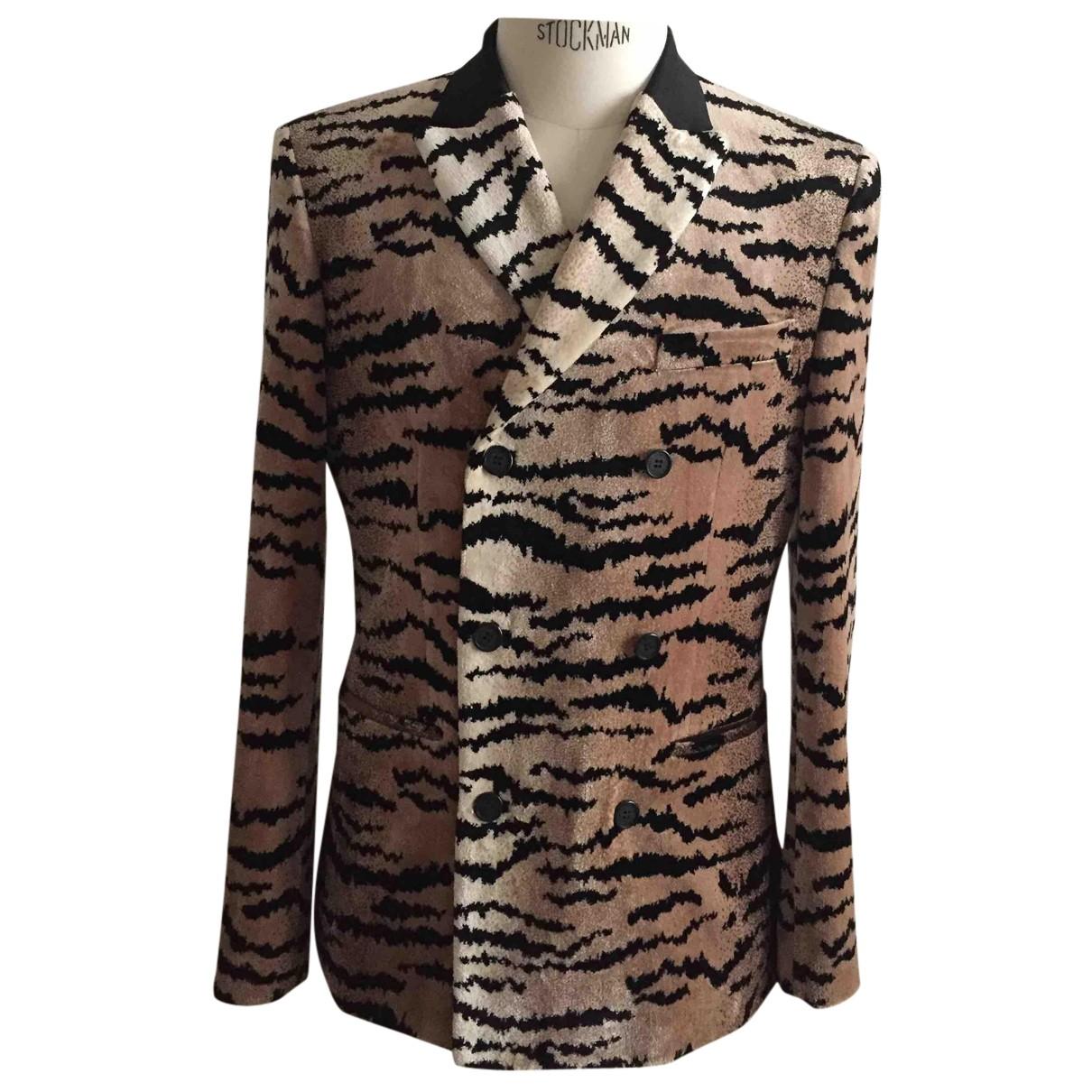 Giambattista Valli X H&m N Multicolour Velvet jacket  for Men 48 FR
