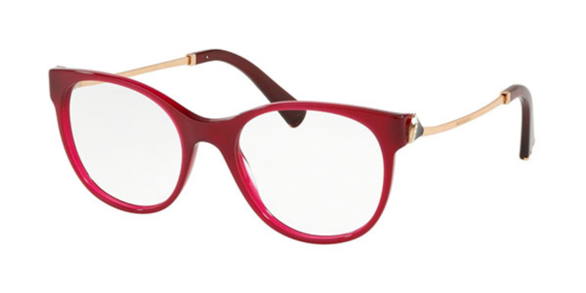 Bvlgari BV4160B 5333 Women's Glasses Red Size 51 - Free Lenses - HSA/FSA Insurance - Blue Light Block Available