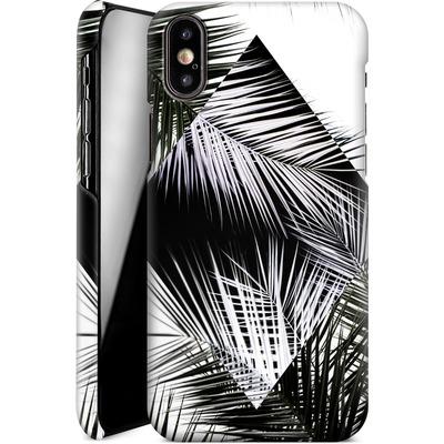 Apple iPhone XS Smartphone Huelle - Palm Leaves 3 Geometry 2 von Mareike Bohmer