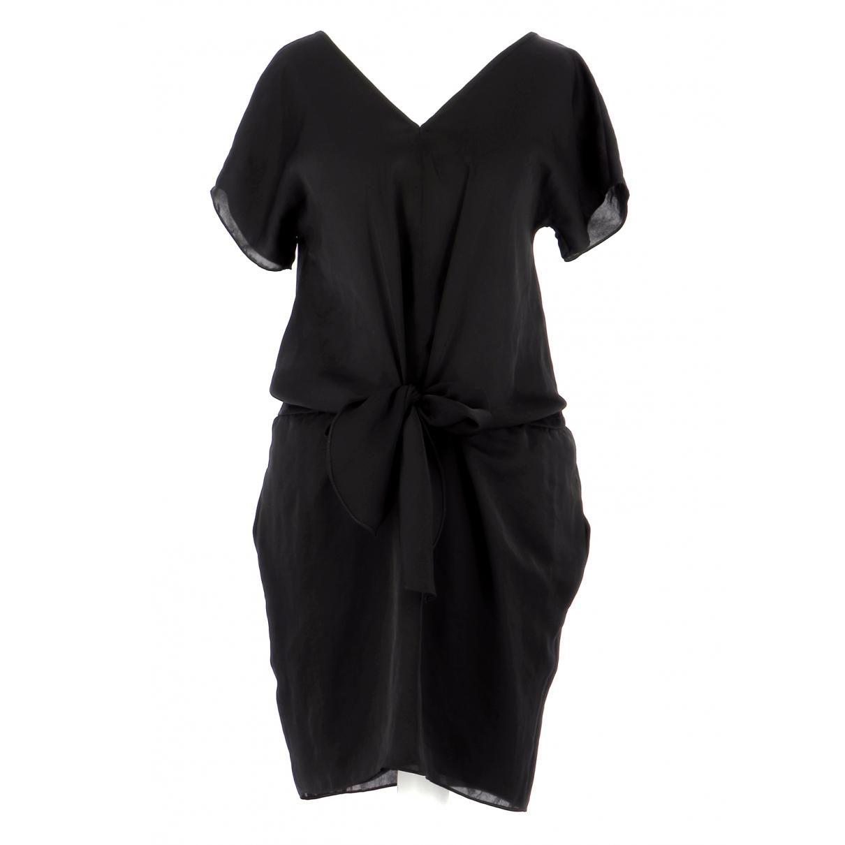 Carven \N Kleid in  Schwarz Polyester