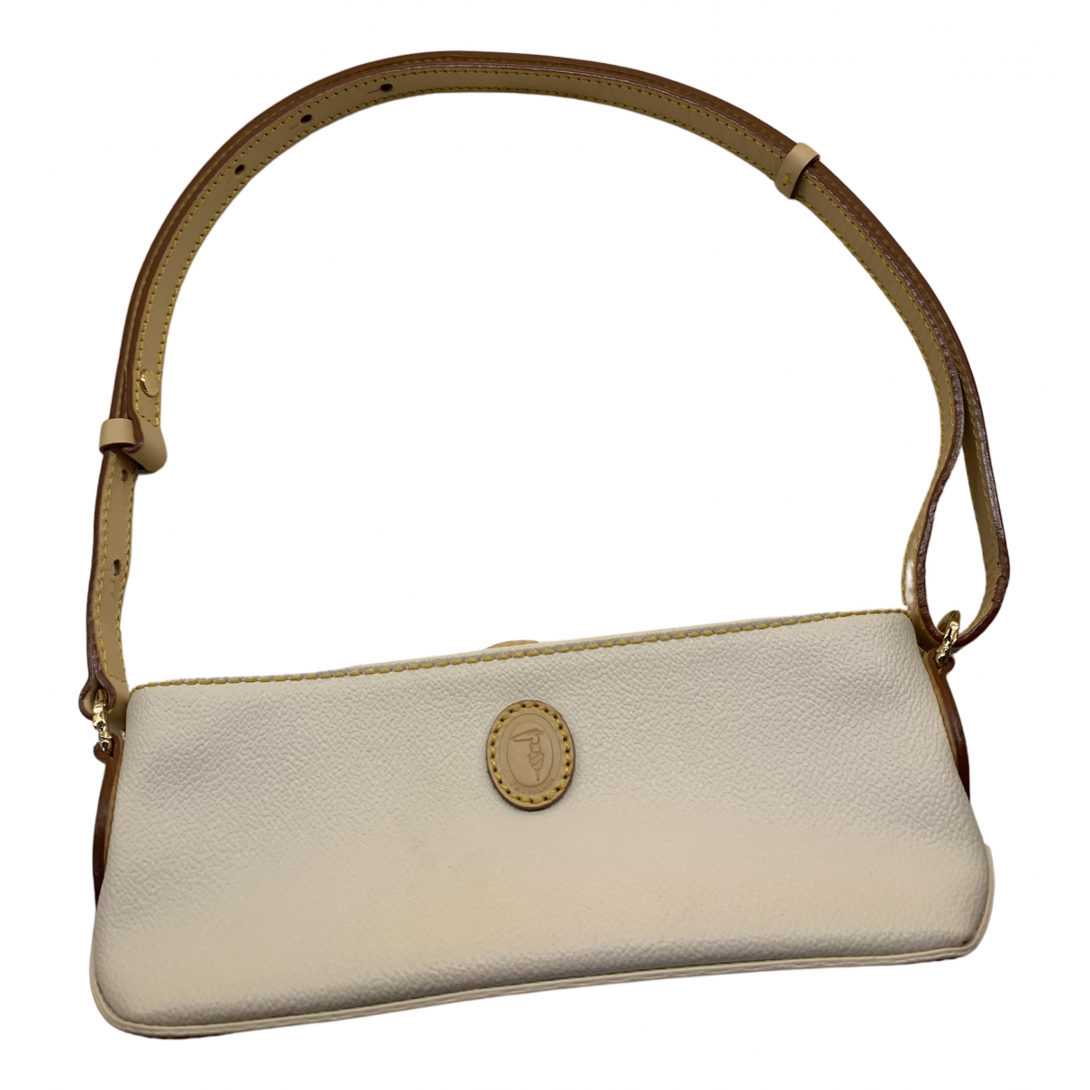 Trussardi N Beige Leather handbag for Women N