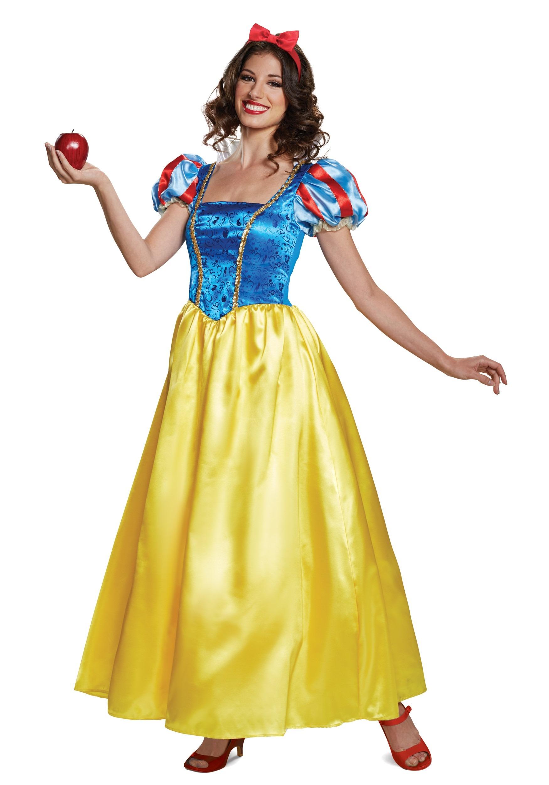 Deluxe Snow White Costume for Women