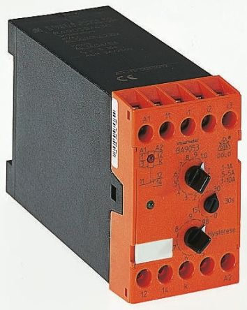 Dold Current Monitoring Relay With SPDT Contacts, 230 V ac Supply Voltage