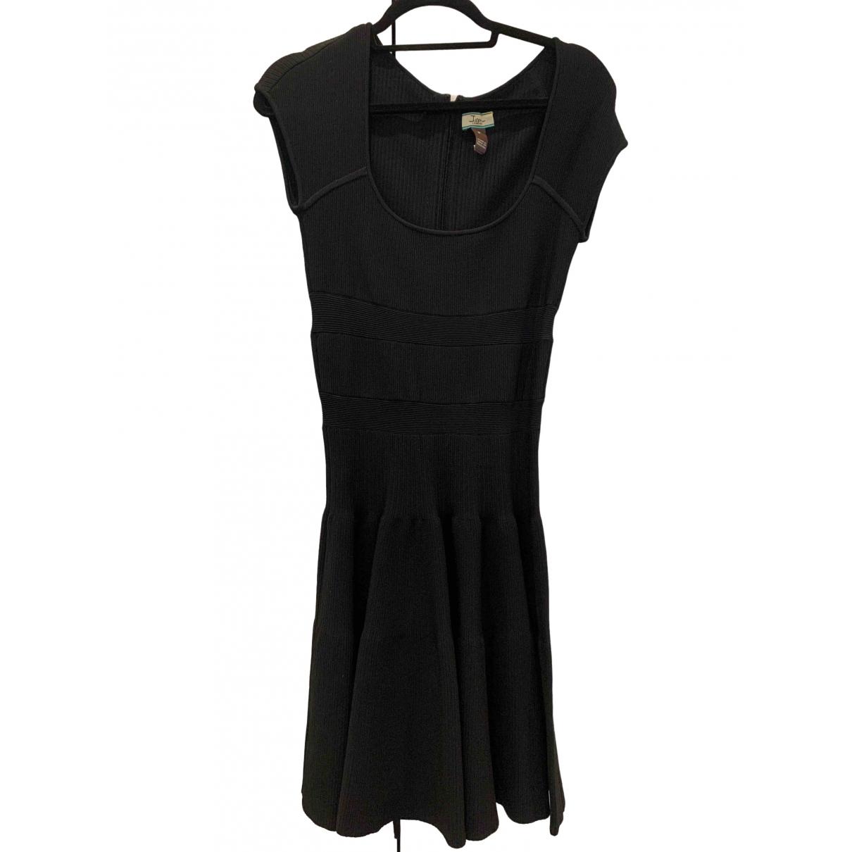 Issa \N Kleid in  Schwarz Baumwolle - Elasthan