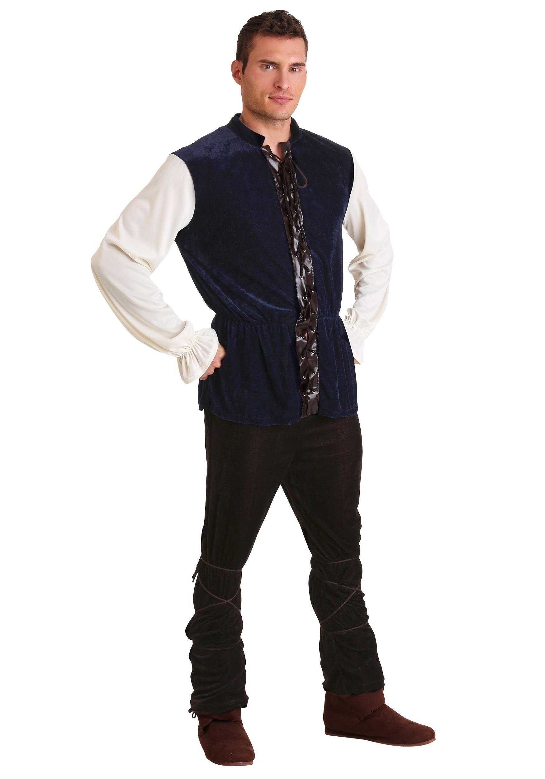 Mens Plus Size Renaissance Tavern Man Costume