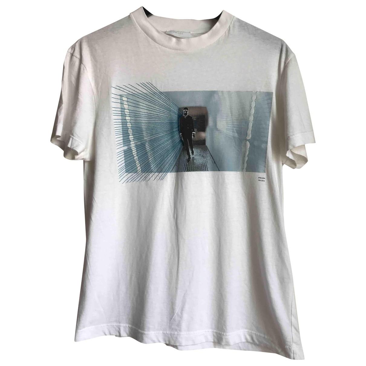 Prada \N T-Shirts in  Weiss Baumwolle
