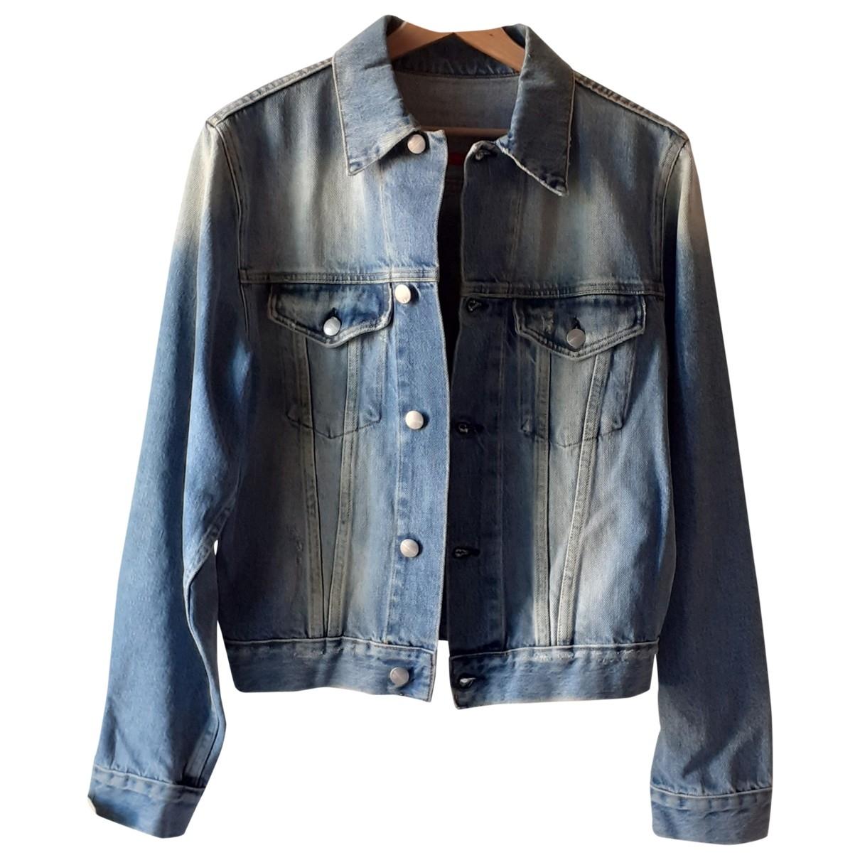 Daniele Alessandrini \N Blue Denim - Jeans jacket  for Men L International