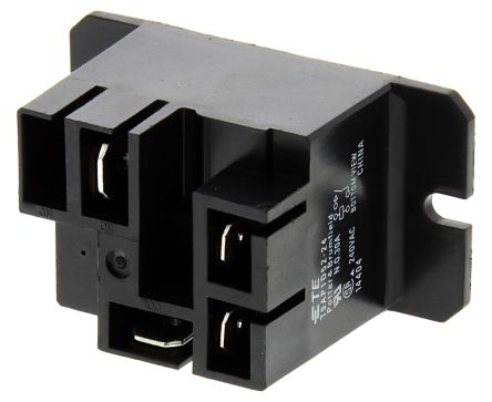 TE Connectivity , 24V dc Coil Non-Latching Relay SPNO, 30A Switching Current Flange Mount Single Pole