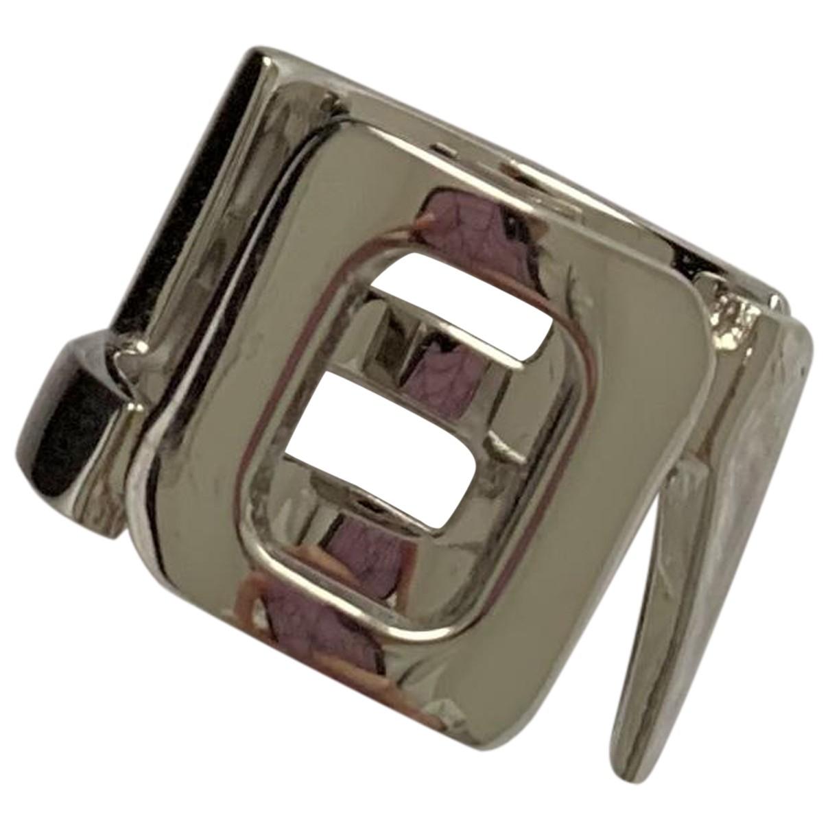 Givenchy - Bague   pour femme en metal - argente
