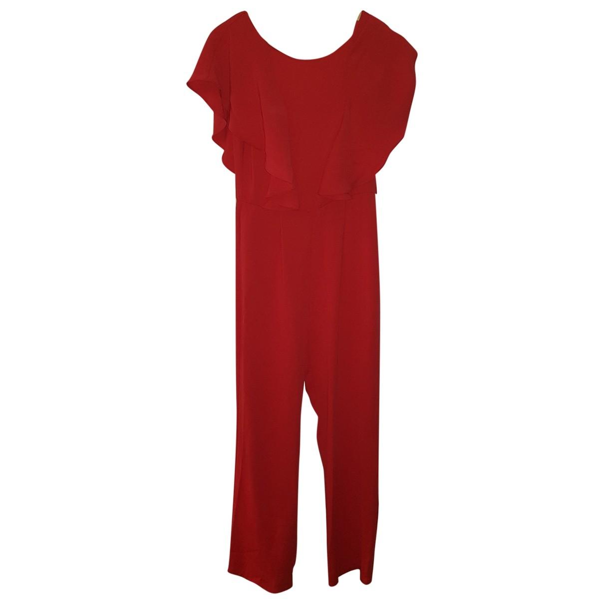 Zara - Combinaison   pour femme - rouge