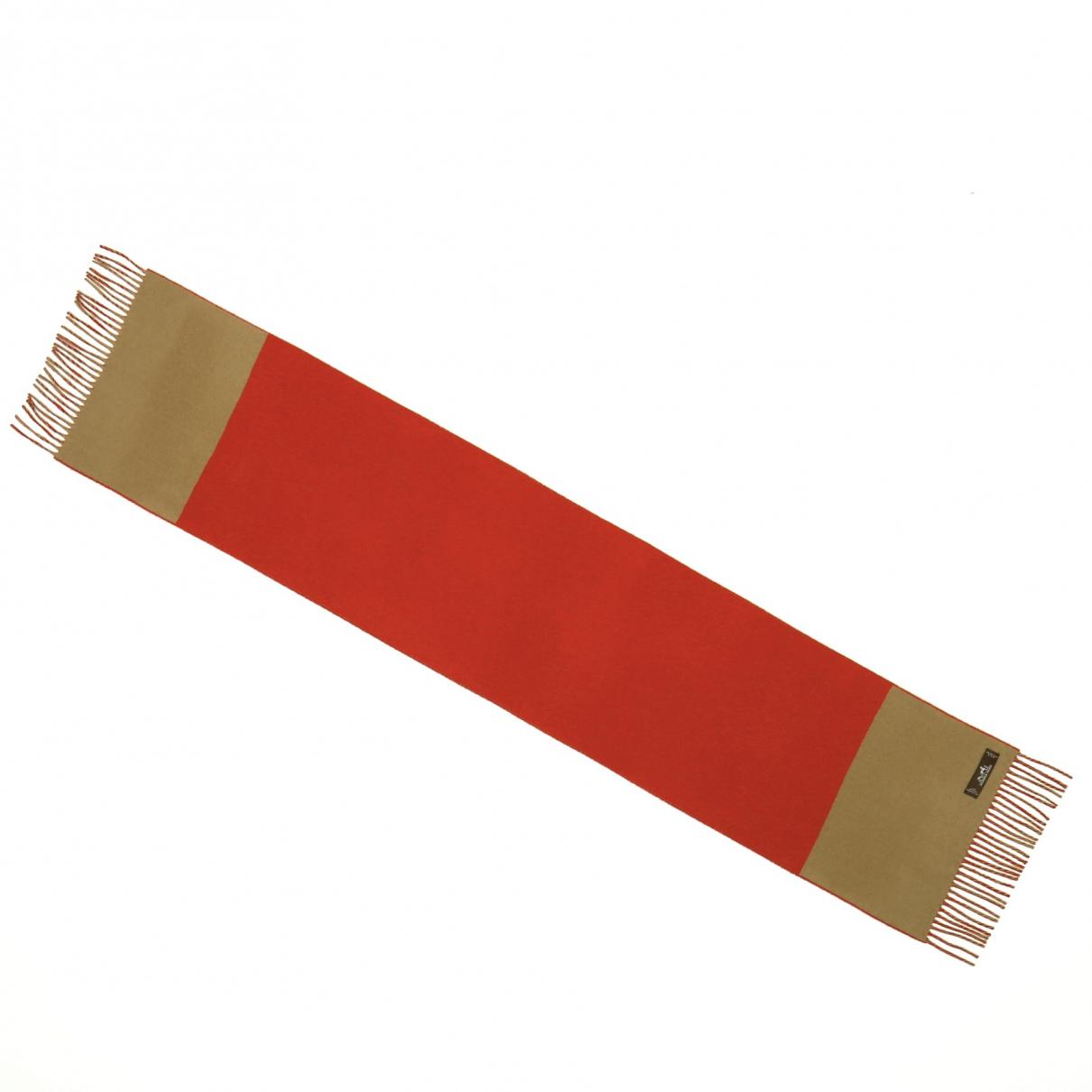 Hermes \N Schal Rot