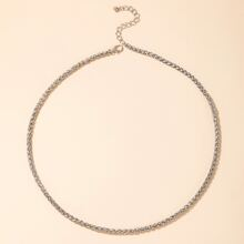 Guys Solid Chain Necklace