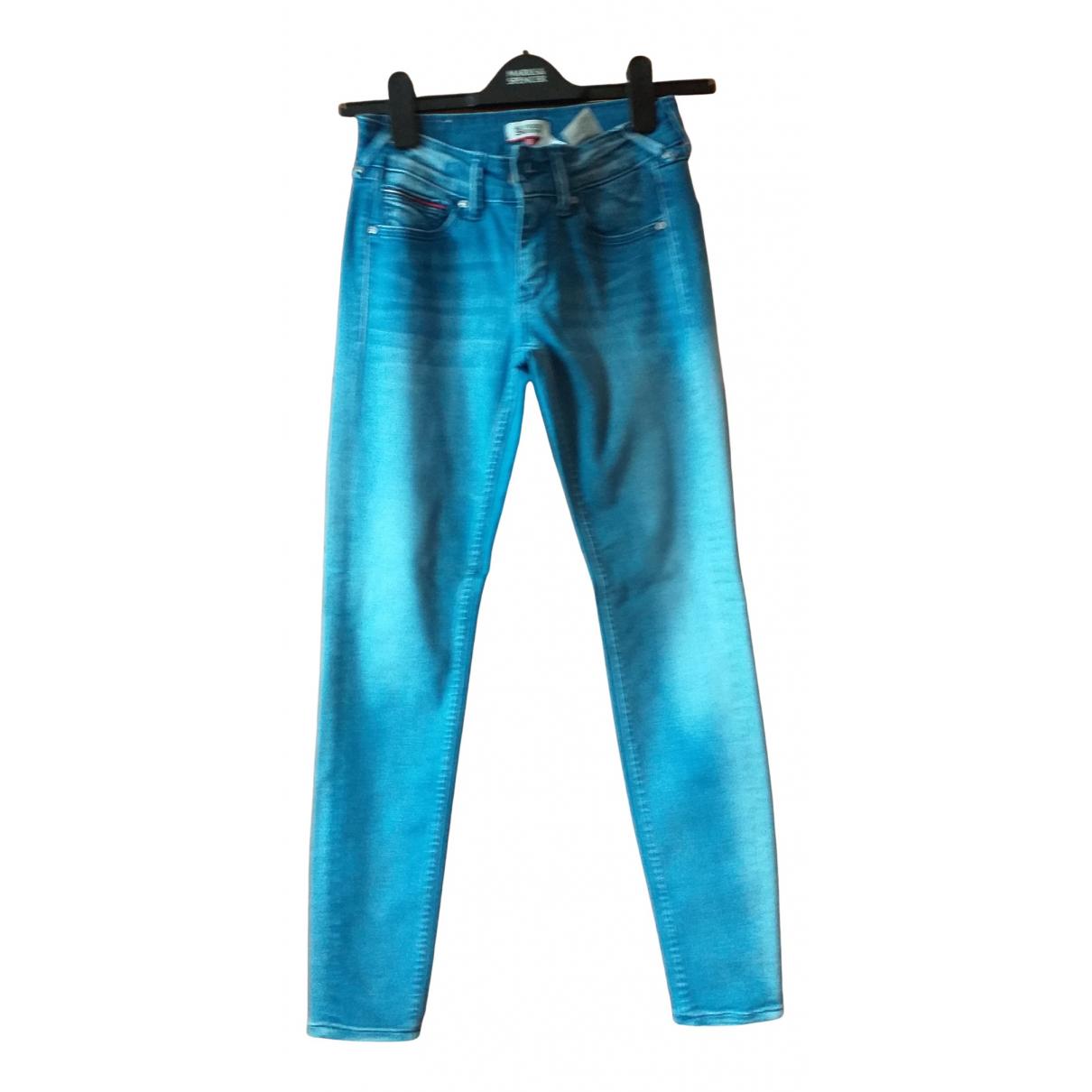 Tommy Hilfiger - Jean   pour femme en denim - bleu