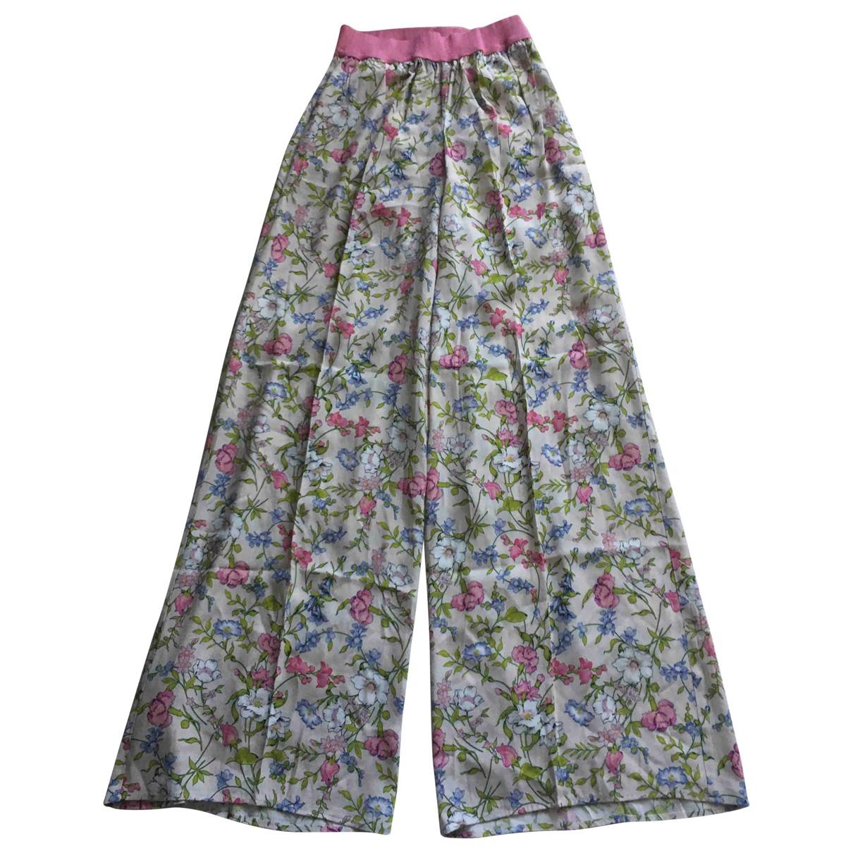 Pantalon recto Twin Set