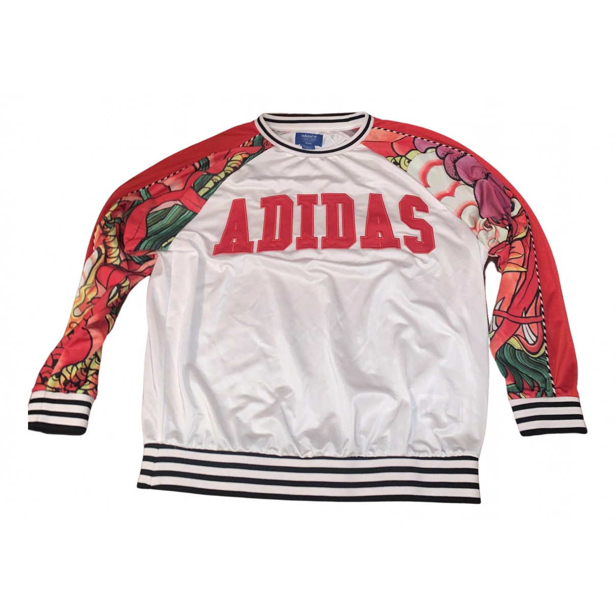Adidas \N Pullover in  Weiss Polyester