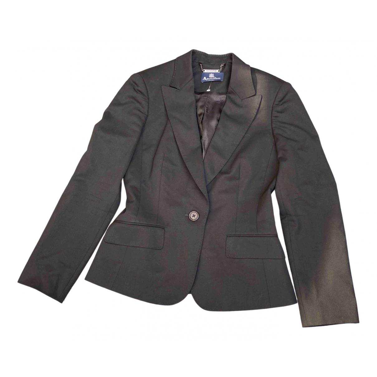 Aquascutum N Black jacket for Women 10 UK
