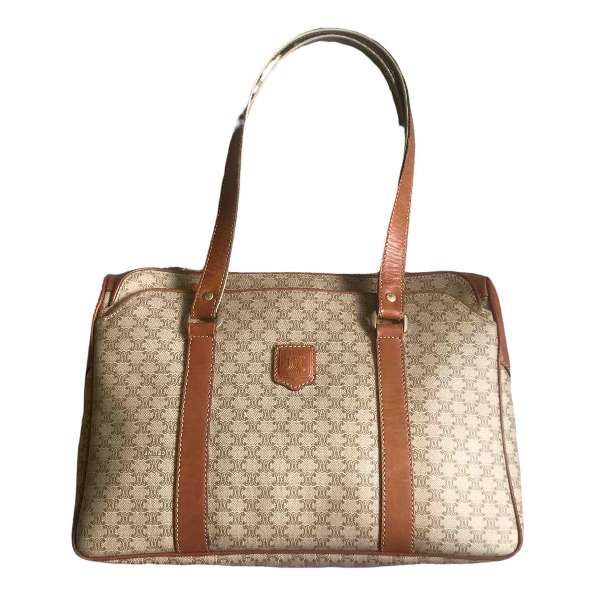 Celine \N Handtasche in  Beige Synthetik