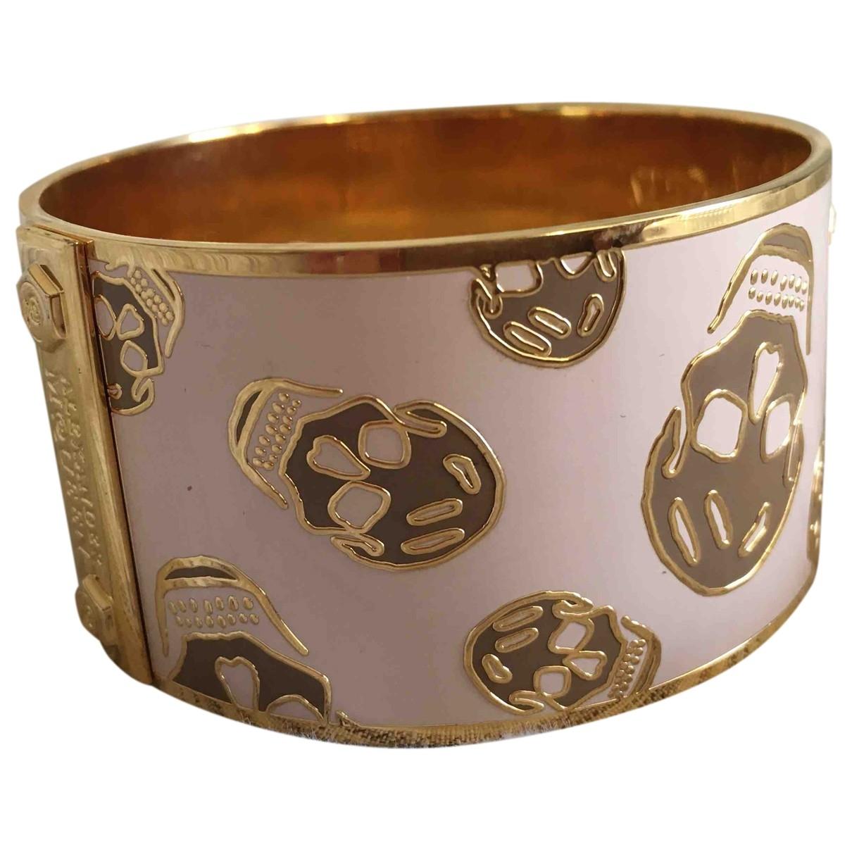Alexander Mcqueen \N Armband in  Rosa Vergoldet