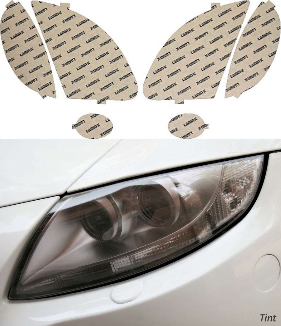 Mercedes SLK-Class 99-04 Tint Headlight Covers Lamin-X MB015T
