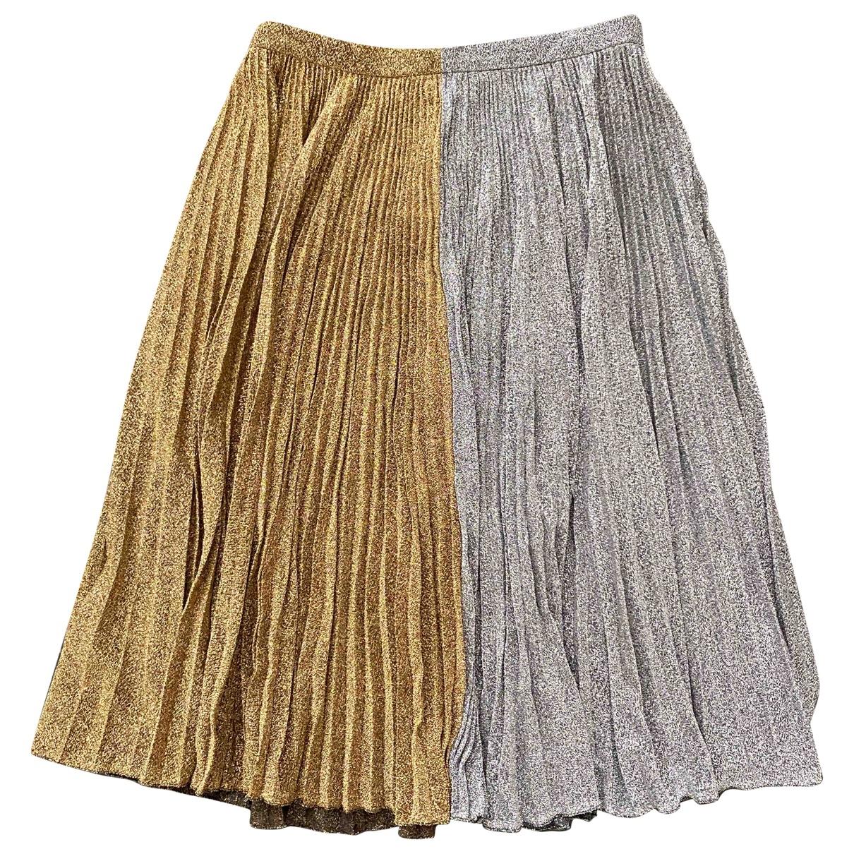 Philosophy Di Lorenzo Serafini \N Gold skirt for Women 44 IT