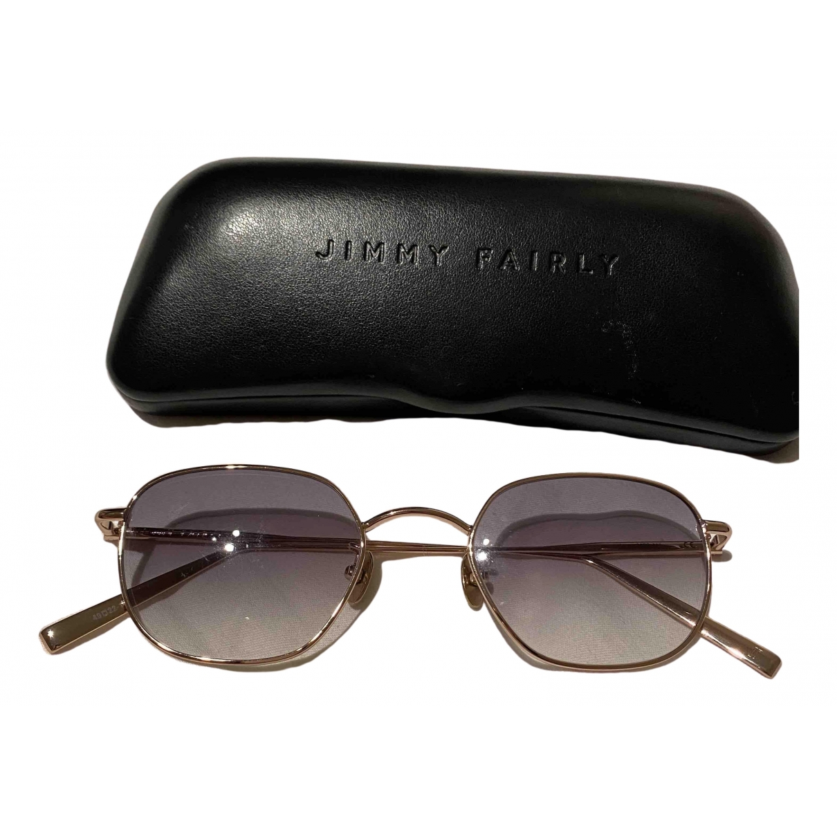Jimmy Fairly \N Metal Sunglasses for Women \N