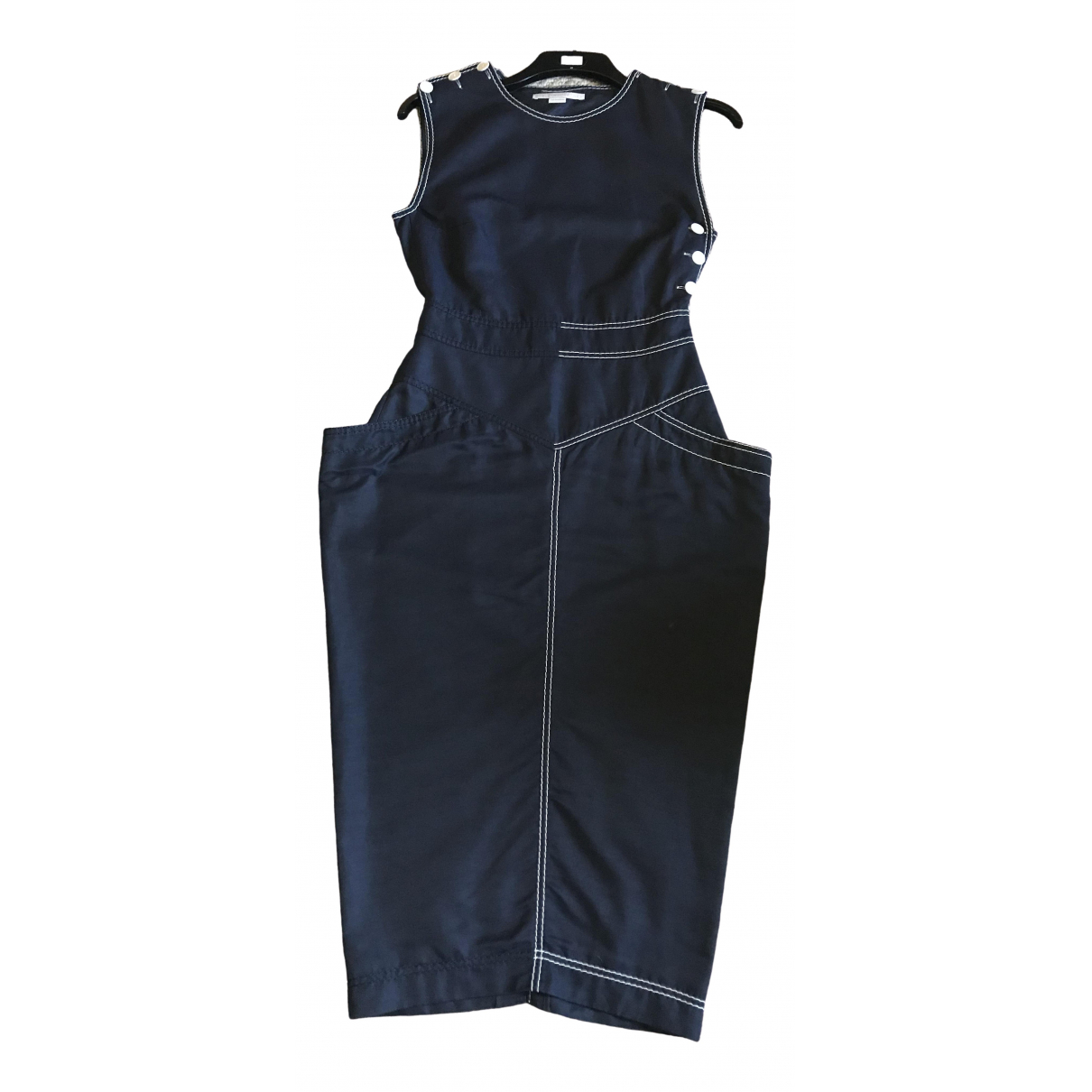 Stella Mccartney \N Navy Cotton dress for Women 40 IT