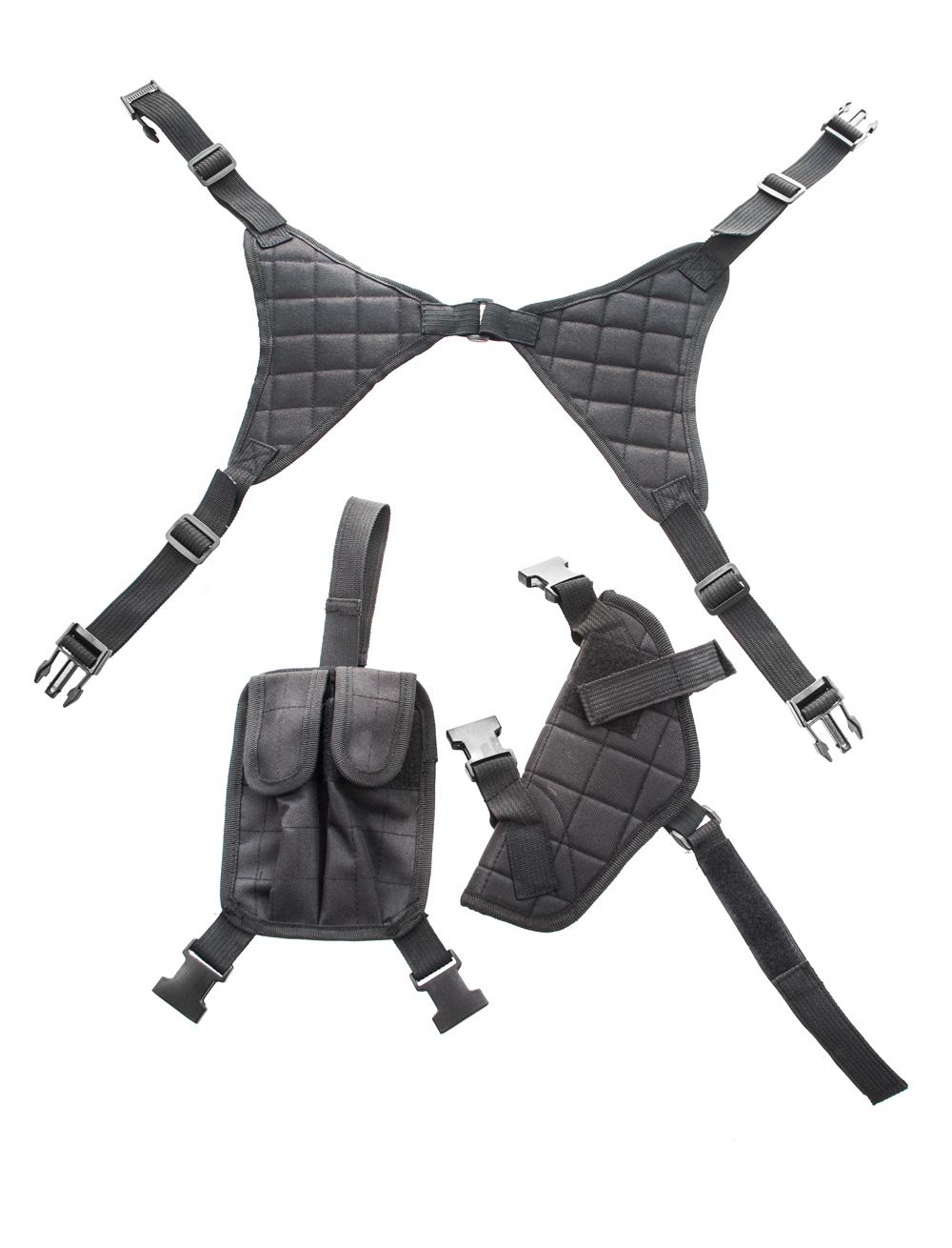 Kostuemzubehor Schulterholster schwarz