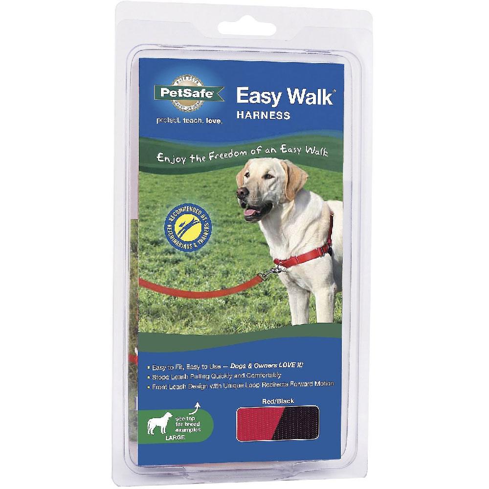 PetSafe Easy Walk Harness - Red/Black (Large)