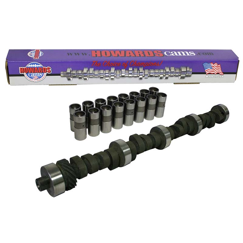 Mechanical Flat Tappet Camshaft & Lifter Kit; 1970 - 1983 Ford 351C, 351M, 400 3200 to 7200 Howards Cams CL232372-10DL CL232372-10DL