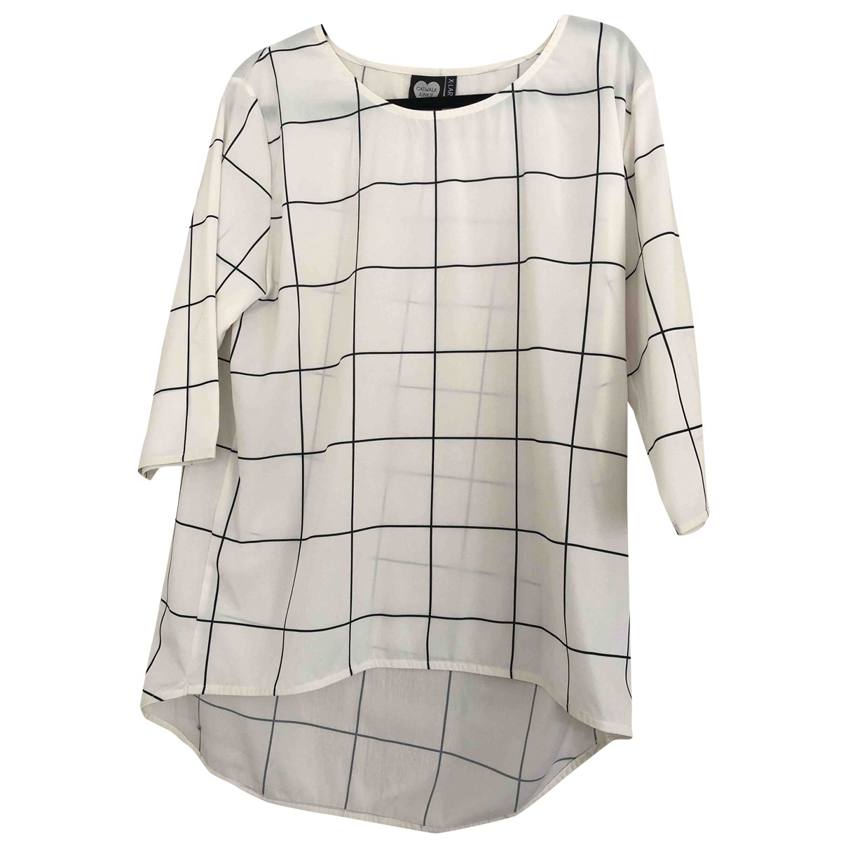 Non Signé / Unsigned \N White  top for Women XL International