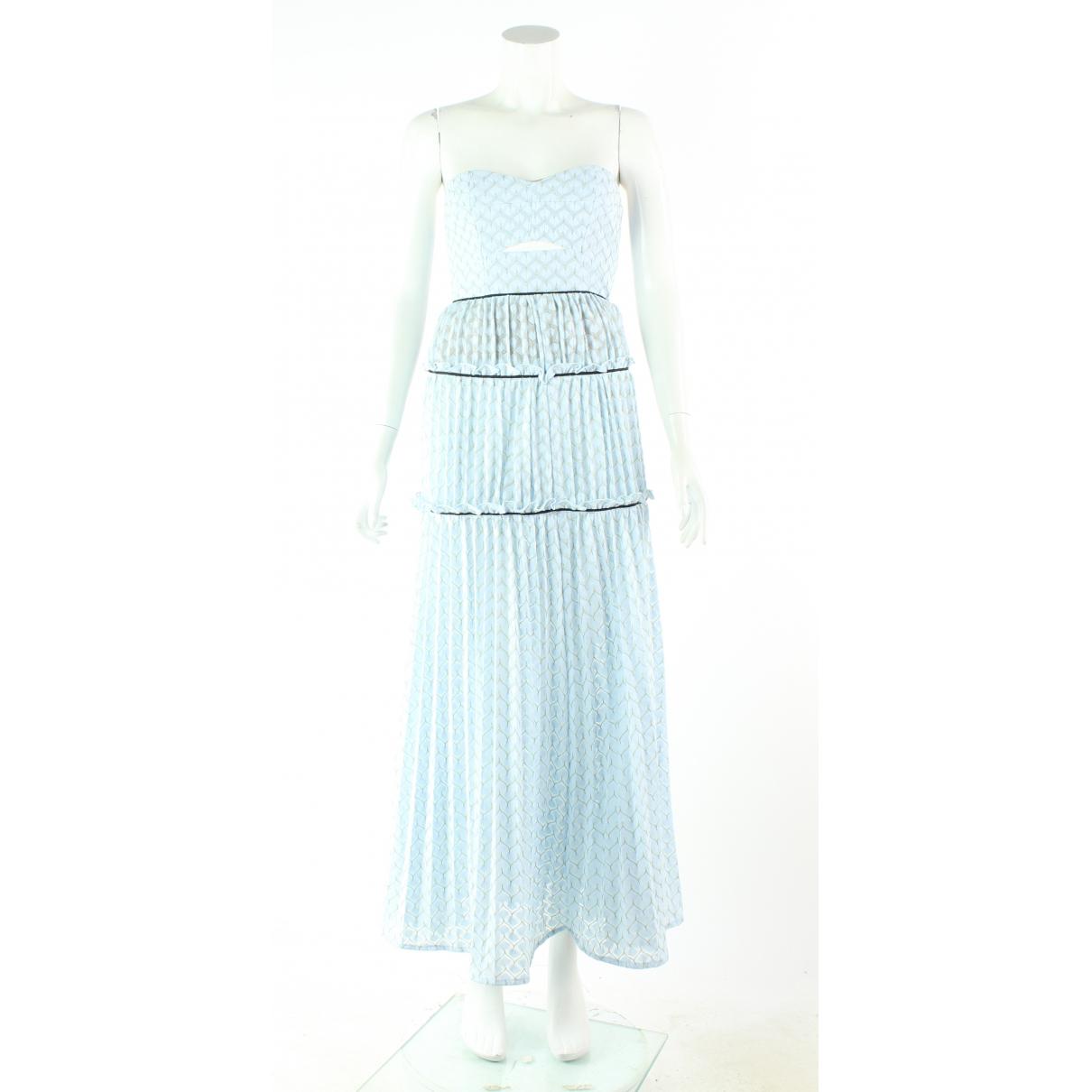 Autre Marque \N Kleid in  Blau Polyester