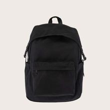 Men Pocket Front Waterproof Backpack