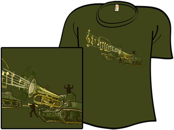 Military Brass T Shirt